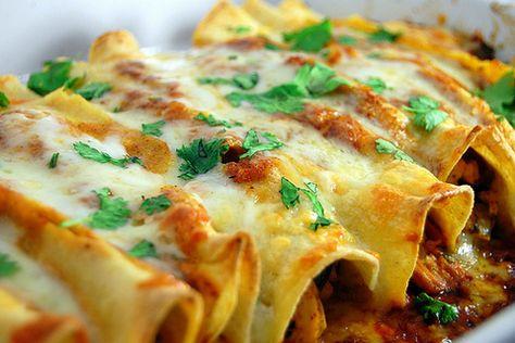 MyFridgeFood - Best Chicken Enchiladas