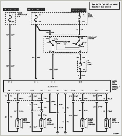 Alternator Wiring Diagram For 99 F150