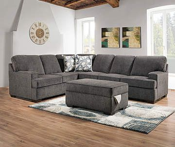 Lane Kasan Gray Living Room Sectional Big Lots Living Room