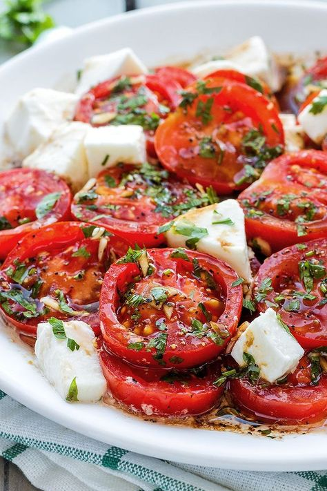 Marinated Tomatoes..♔..