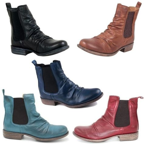8c6569707f4a The Miz Mooz Lissie #boot is an upgrade to the classic Chelsea and features  #leather ruching that takes things up a notch. Available in 5 signature  colours: ...