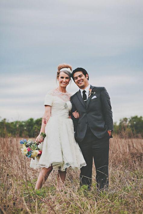 Sixties Inspired Texas Wedding