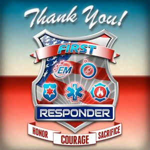 A grassroots effort to raise awareness, support, honor, celebrate and say Thank You to First Responders. Join us on ThankYouFirstResponder.org to listen and share the song & anthem