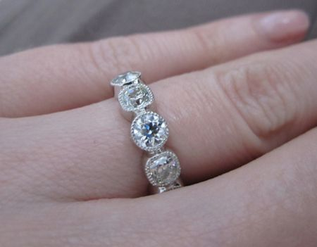 ring half eternity bw bezel tn bands round ety band diamonds set diamond rd natural