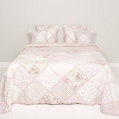Tagesdecke Plaid Quilt Emily Rose Pink 180 X 260 Clayre Https