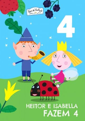 Ben Holly Birthday Card 4 Today Ben And Holly Ben And Holly Party Ideas Birthday Cards