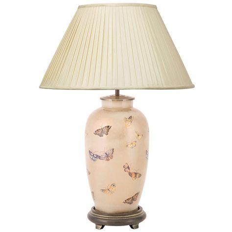 Jenny Worrall Designs Royal Horticultural Society Urn Lamp Base
