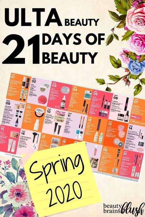 Ulta 21 Days Of Beauty 2020 Discount Sale In 2020 Ulta Clinique Acne Solutions Beauty