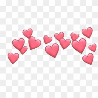 Heart Hearts Crown Emoji Tumblr Emojis Picsart Crown Cute Heart Emoji Transparent Hd Png Download Pink Heart Emoji Heart Emoji Broken Heart Emoji