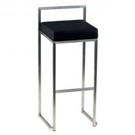 Csy 812a N Chaise De Bar Design Noir Avec Dosseret Chaise De Bar Design Chaise Bar Bar Design