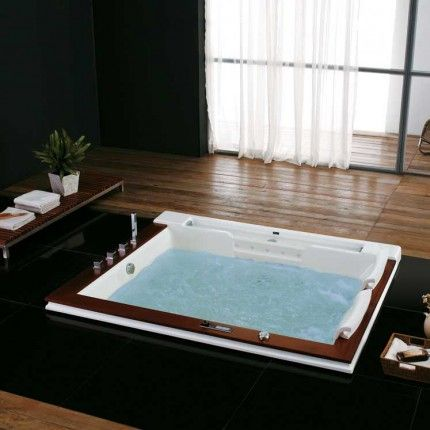 Seattle Luxury Massage Tub Whirlpool Tub Tub Bathroom Spa