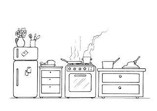 Menta Mas Chocolate Recursos Y Actividades Para Educacion Infantil Dibujos Para Colorear Utensilios De Cocina Dibujos Para Colorear Cocinar Dibujo Colores