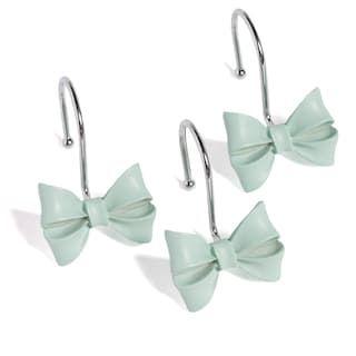 Lc Lauren Conrad Bow 12 Pk Shower Curtain Hooks Null Shower