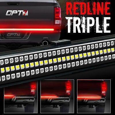 """48/"""" Truck LED Tailgate Light Strip Bar Brake Backup Light for Chevy Honda Ram"""
