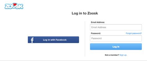 Zoosk Login Your Sign In Guide Email address,