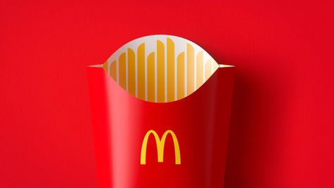 McDonald's launches playful redesign of its packaging