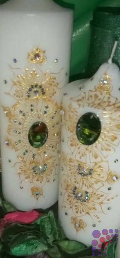 شموع فاخرة لتزين المنزل Bottles Decoration Candles Art Design