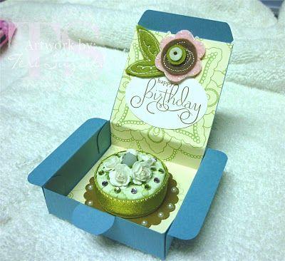 Tea light birthday cake. Too cute and easy to make!