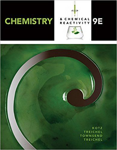 Chemistry And Chemical Reactivity 9th Edition By John C Kotz