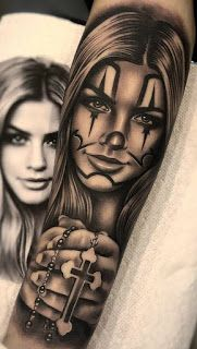 Full hand Tattoo for man and woman