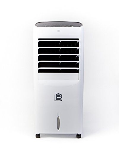 Living Basix Lb500 Portable Evaporative Air Cooler With Digital Display And Remote Control White You Evaporative Air Cooler Room Air Conditioners Air Cooler