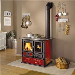 La Nordica Rosa Reverse Wood Cook Stove Wood Stove Hearth Wood Burning Cook Stove Wood Stove Cooking