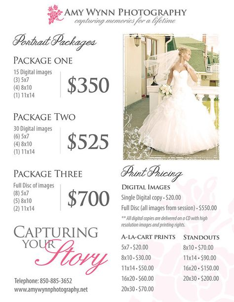 28 Trendy Photography Wedding Packages Price List