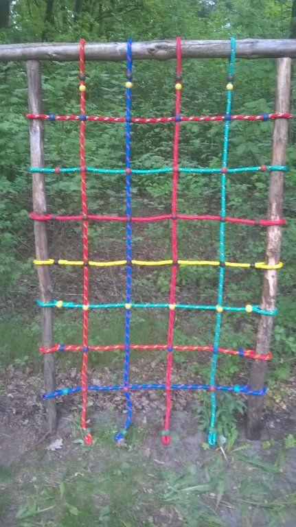 Siatka Liny Do Wspinaczki Plac Zabaw 1 25 X 2 M 14 Outdoor Structures Outdoor