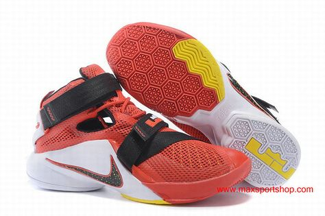 a38bce464757 Nike LeBron Zoom Soldier 9 In Cavaliers Colorway