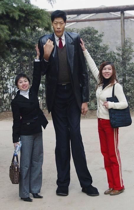 Zhang Juncai - Alchetron, The Free Social Encyclopedia | Giant people, Tall guys, Tall people