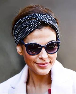How To Wear Headbands With Short Hair Turbans 17 Ideas For 2019 Turban Headband Hairstyles Bandana Hairstyles Short Hair Scarf Styles