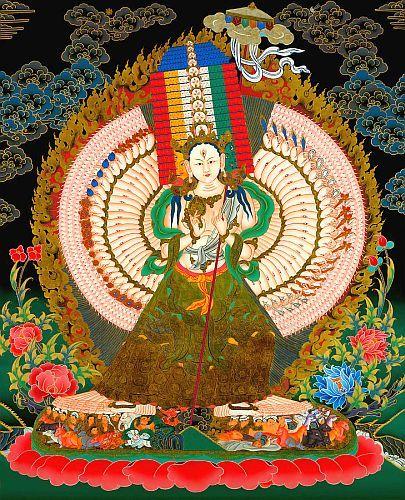 仏頂尊勝母」の画像検索結果   仏教, 曼荼羅, 菩薩