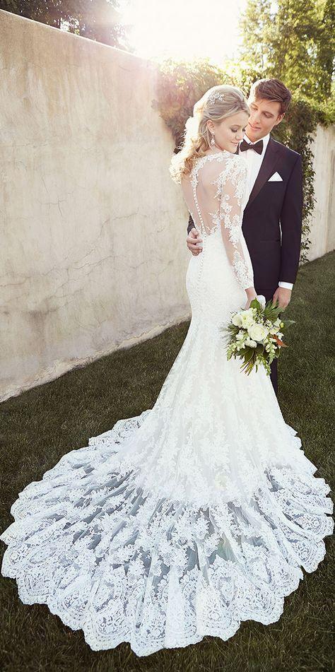 Vestido de novia corte sirena | bodatotal.com | bride, wedding dress, mermaid dress, bodas, ideas para bodas