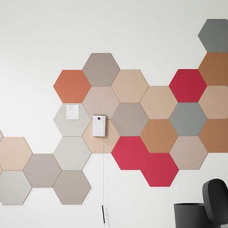 Hexagonal Colored Cork Wall Tiles Cork Wall Tiles Cork Wall Patterned Wall Tiles