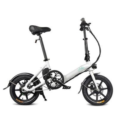 Fiido D3 Folding Electric Bike Power Assist Variable Speed Version Aluminum Alloy Bicycle 7 8ah 36v Sale Price Reviews Gearbest Moped Sepeda Motor