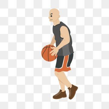 Basketball Play Basketball Basketball Player Athlete Cartoon Basketball Basketball Player Cartoon Man Png And Vector With Transparent Background For Free Dow Basketball Players Basketball Plays Cartoon