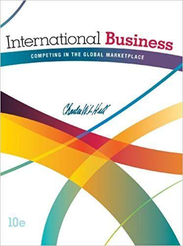 International Business 10th Edition Charles Hill Ebook Cst Business Books Economics Books Teacher Books