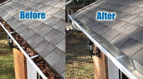 Gutter Cleaning Tips And Tricks Home Maintenance Cleaning Gutters How To Install Gutters