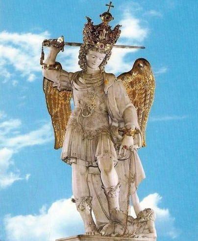 O Poder De São Miguel Arcanjo Oração Devoção Aparição Monte Gargano Na Itália Rosário A Visão Diabó Arcanjo Oração De São Miguel Arcanjo Papa Leão Xiii