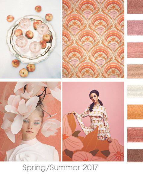 FromDesign Options, a fabulous CA-based color forecasting company:a preview of upcoming color trends for the Spring/Summer2017-2018 season. Just a little taste of what's to come for women, men, …