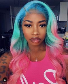 Mixed color hair!wow