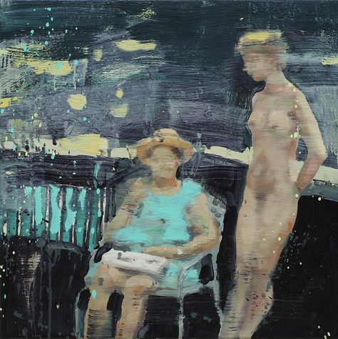 Grandmother Had Been Just as Pretty - Tor Arne Moens Oil on canvas