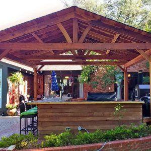Del Norte Outdoor Kitchen Pavilion Backyard Design Outdoor Kitchen Del Norte