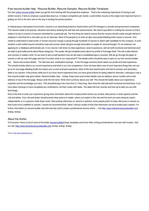 builder free resume online ozmxrcb printable blank forms career - make free resume online