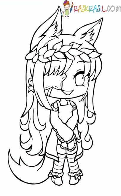 Gacha Life Coloring Pages Unique Collection Print For Free Witch Coloring Pages Coloring Pages For Girls Cool Coloring Pages