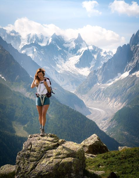 Would you hike this iconic French trail? The Tour du Mont Blanc is one of the most popular trails in the world. It circles Mont Blanc and… Camping 3, Belle France, Hiking Photography, Mountain Photography, Destinations, Lofoten, Day Hike, Travel Aesthetic, Adventure Is Out There
