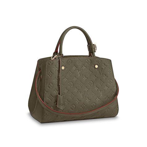 View 1 - Montaigne MM Monogram Empreinte Leather in Women s Handbags Top  Handles collections by Louis Vuitton cf83db05d1