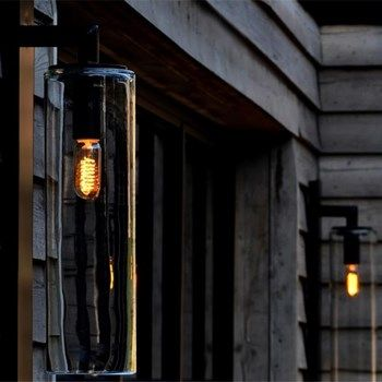 Contemporary Dome Glass Outdoor Wall Light Outdoor Walls Outdoor Wall Lighting Outdoor Wall Sconce