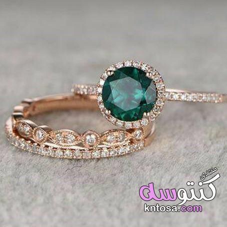 أشكال الخواتم الأنيقة بالفصوص الخضراء صور خواتم ذهب رقيقة أجمل كولكشن من Blue Diamond Engagement Ring 14k White Gold Engagement Rings Jewelry Rings Engagement
