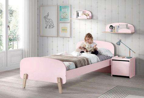 Kinderbett »Kiddy« inkl. Rollrost, MDF-Oberfläche